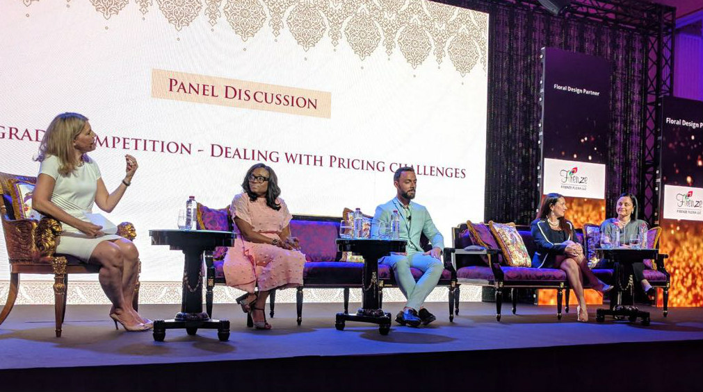 Sarah Young Panel Discussion at Exotic Wedding Planning Conference in Dubai