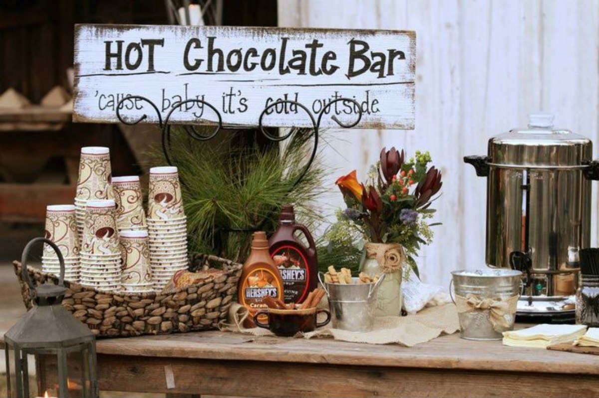 Hot-chocolate-stand-way-to-keep-warm-at-a-winter-wedding-Sarah-Young-Events