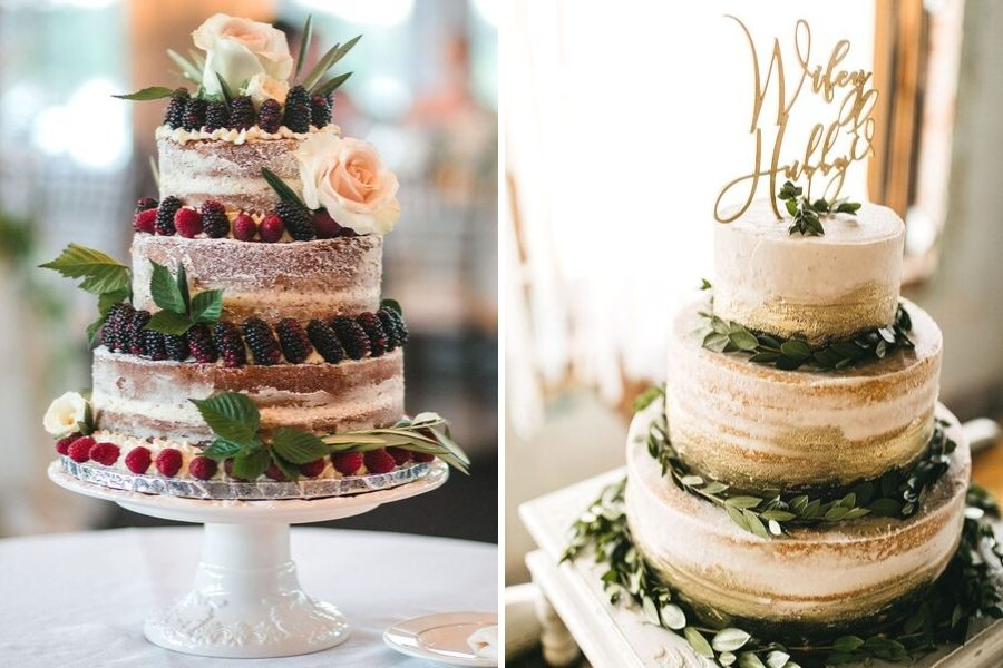Elevated-naked-wedding-cake-ideas-sarah-young