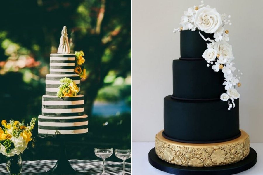 black-and-whaite-wedding-cake-ideas-sarah-young